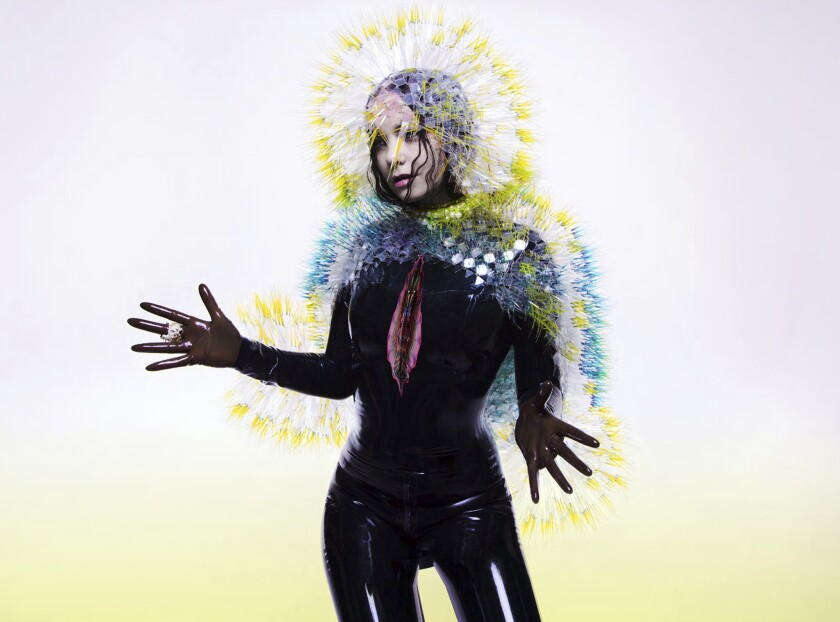"""""""Vulnicura"""" is a new album by experimental pop singer Björk that was released with little notice."""
