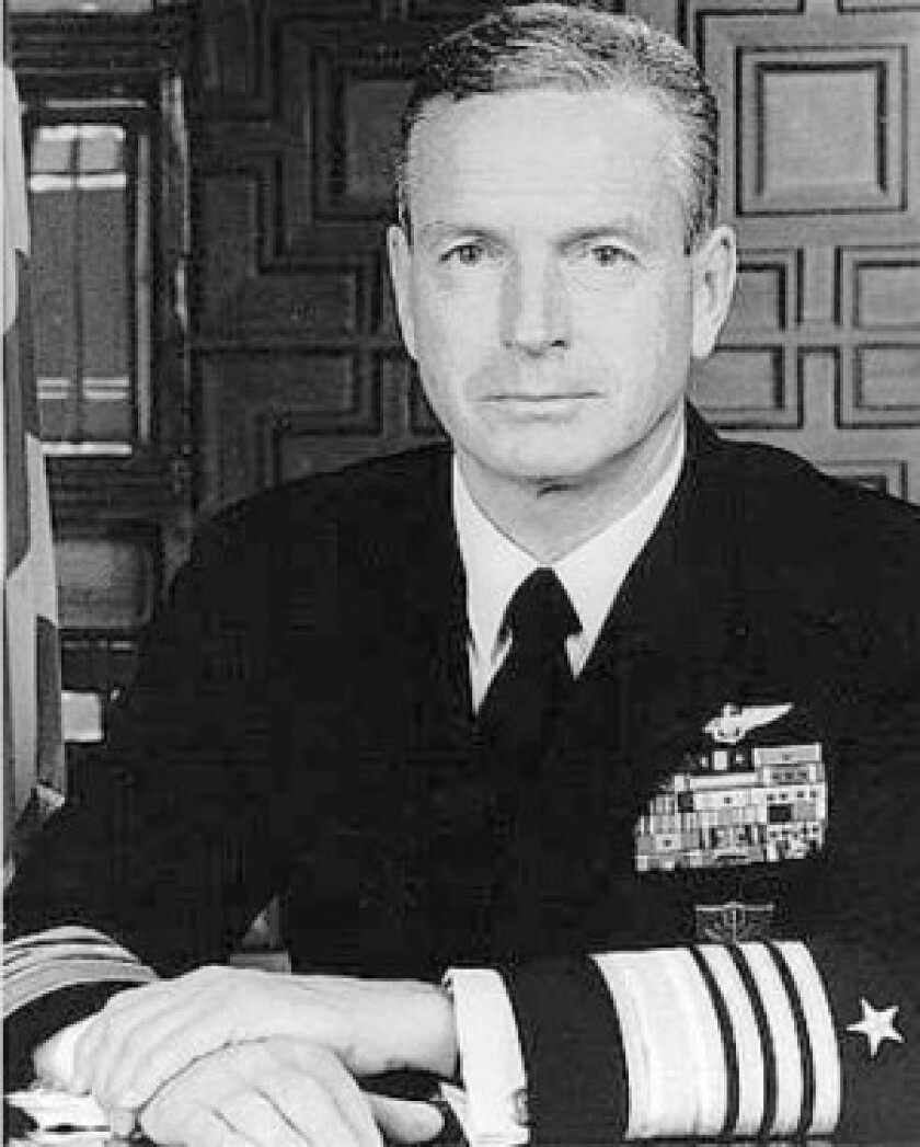 Adm. Ralph W. Cousins also was the Navy's second-highest-ranking officer and commander of NATO forces.
