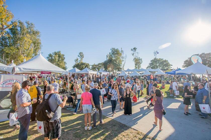 San Diego Bay Wine and Food Festival.