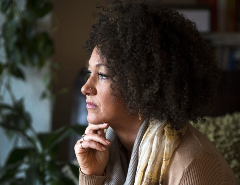Rachel Dolezal, who had claimed she was black, has resigned as president of the Spokane, Wash., chapter of the NAACP.