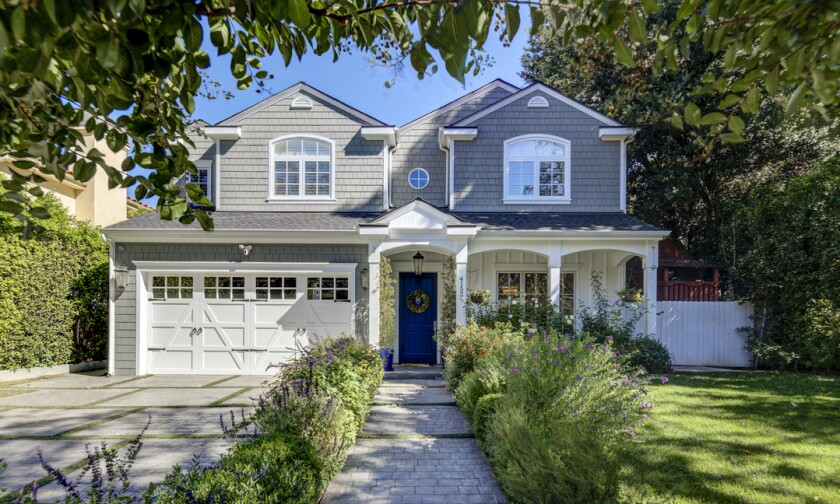 Kevin McKidd's two-story traditional home in Sherman Oaks.