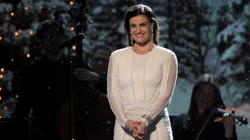 """Indina Menzel on """"CMA Country Christmas"""""""