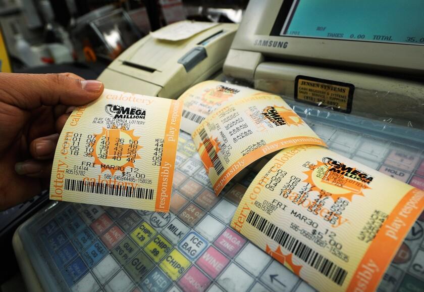 California Lottery tickets