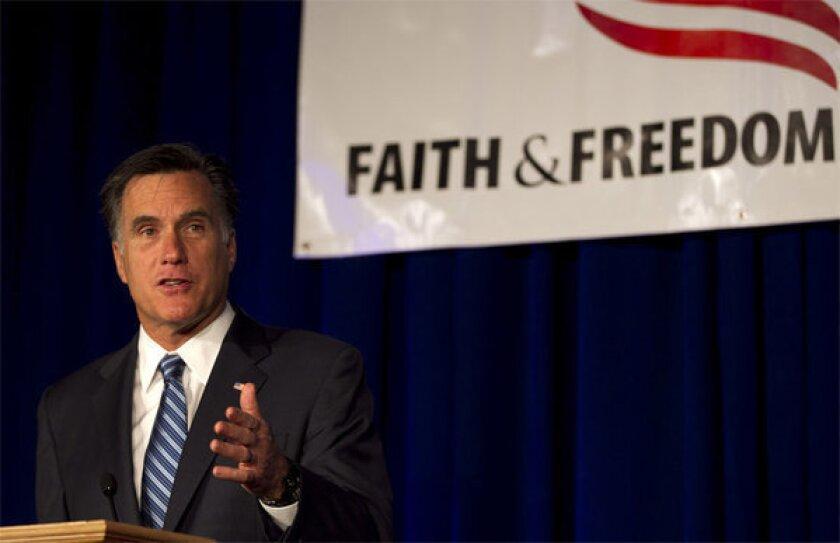 Romney, Santorum court religious conservatives in Wisconsin