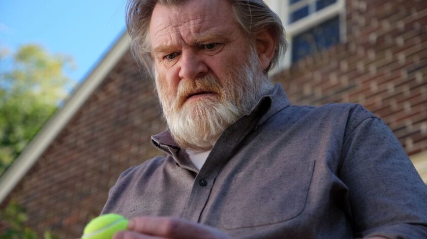 """Brendan Gleeson plays a retired police detective haunted by an old case in the Audience series """"Mr."""