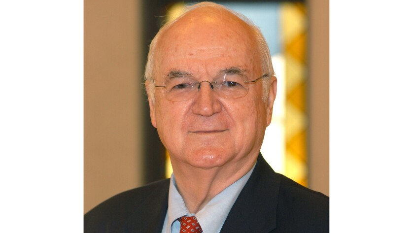 The Rev. Richard McBrien was a theology professor at the University of Notre Dame and for nearly 50 years penned a weekly column for Catholic newspapers.