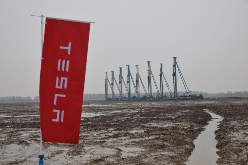 Tesla China factory