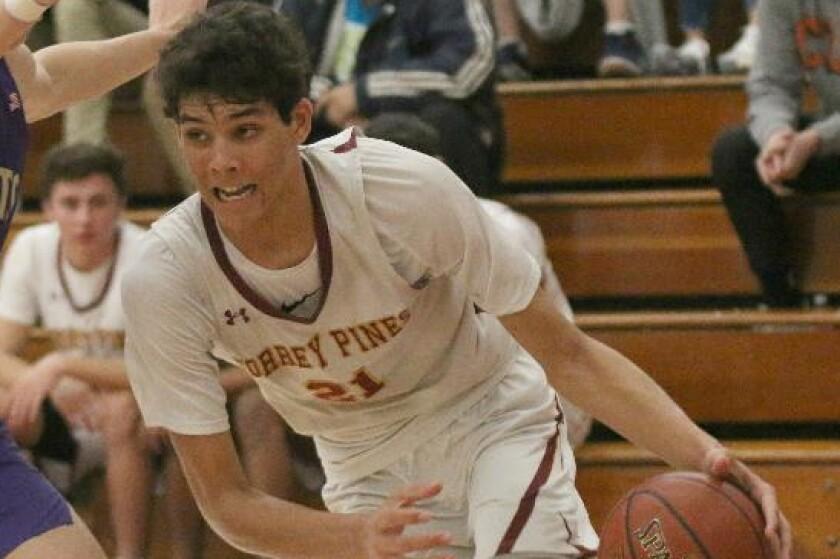 Brandon Angel, Torrey Pines high school boys basketball