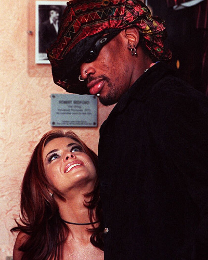 Carmen Electra and Dennis Rodman wed in Las Vegas in November 1998. Electra filed for divorce the following April.