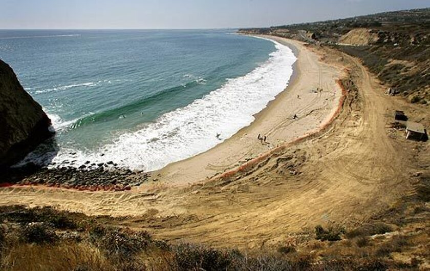 Work has begun to turn El Morro Beach in Orange County into the state's first new coastal campground in two decades.