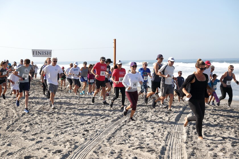 The 37th Annual JakeÕs Del Mar 5K Beach Fun Run