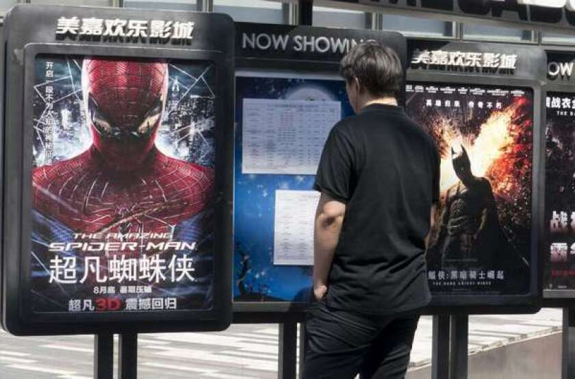 Imports top local films as China box office grows 28% in 2012