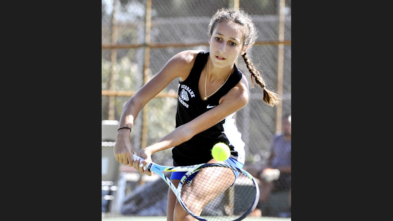 Photo Gallery Burbank Girls Tennis In Pacific League -3311