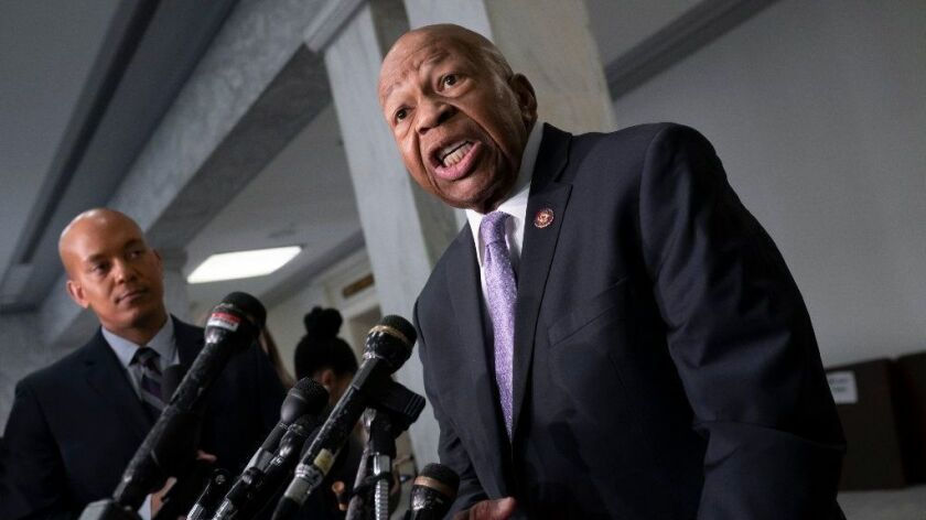 House Oversight and Reform Committee Chairman Elijah E. Cummings (D-Md.).