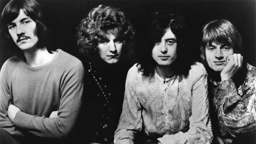 Led Zeppelin, 1969. Photo Credit: Atlantic Records.
