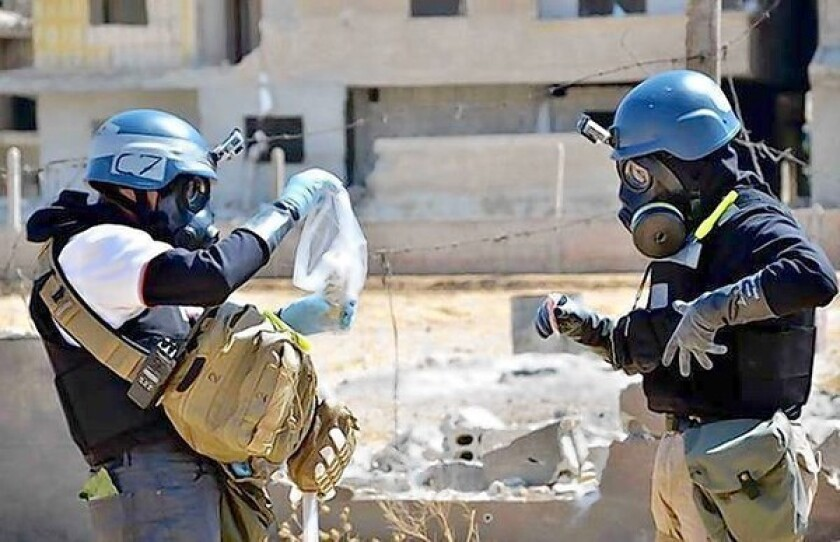Disarming Syria of chemical weapons highly complex, experts say