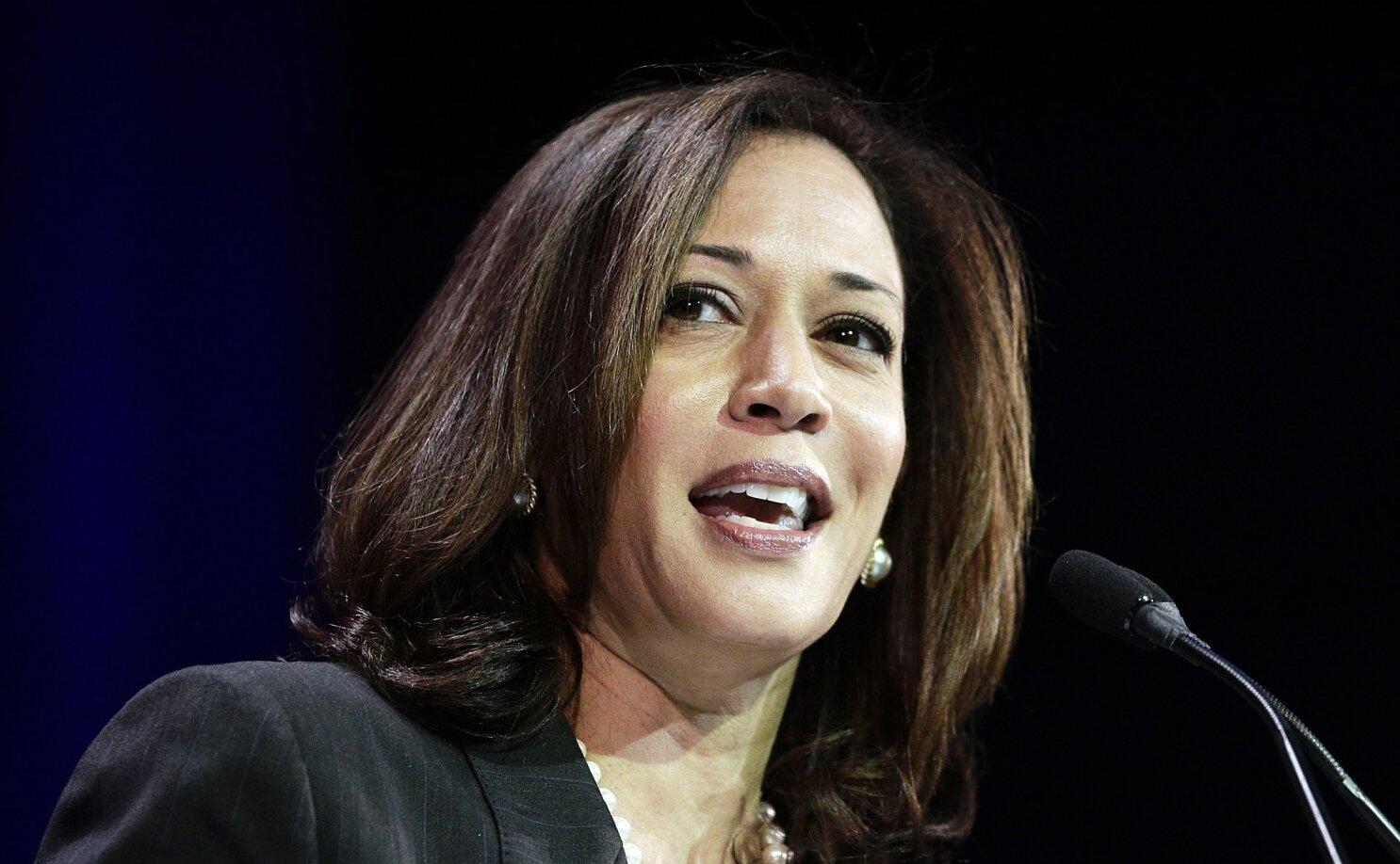 Kamala Harris Launches U S Senate Bid Begins Raising Money Los Angeles Times