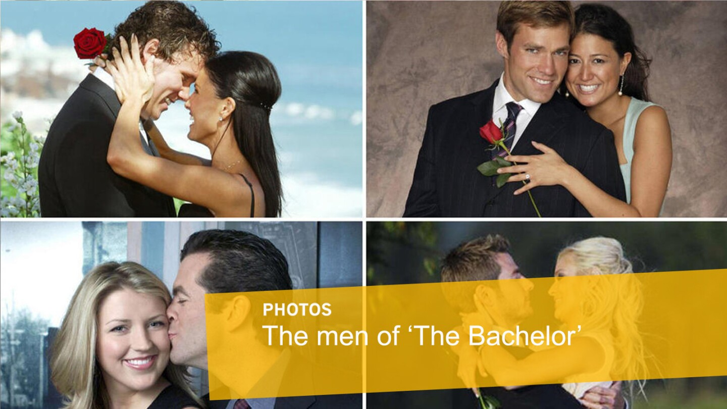 """Those """"Bachelors"""" -- they've got charm, looks and the special red rose! Here, we recap all the past lads and the ladies they feel head over heels for. By Christy Khoshaba"""