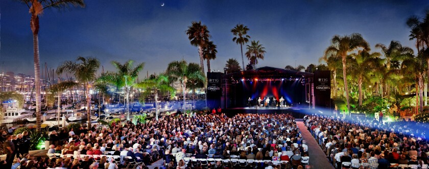 Humphrey's Concerts by the Bay will host its 38th season this year. Tickets go on sale April 6.