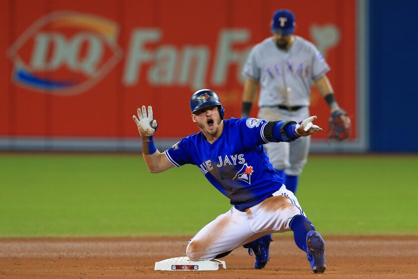 Blue Jays sweep Rangers after walk-off 6-5 win