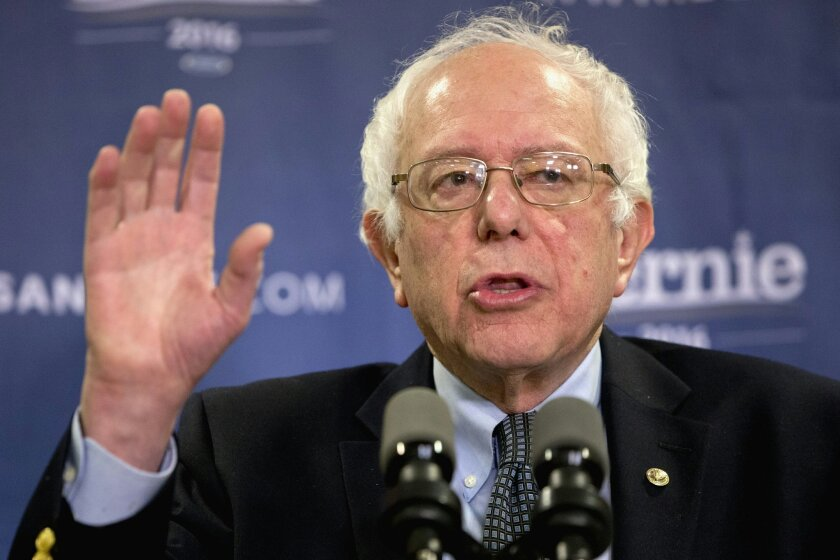 """FILE - In this Feb. 24, 2016 file photo, Democratic presidential candidate, Sen. Bernie Sanders, I-Vt. speaks in Columbia, S.C. At first blush, many Americans like the idea of """"Medicare for all,"""" the government-run health system that's a rallying cry for Democratic presidential candidate Bernie San"""