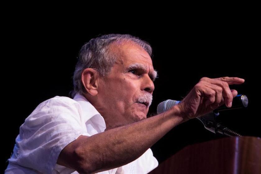 Puertorriqueño Oscar López Rivera llega a Nueva York en medio de polémica
