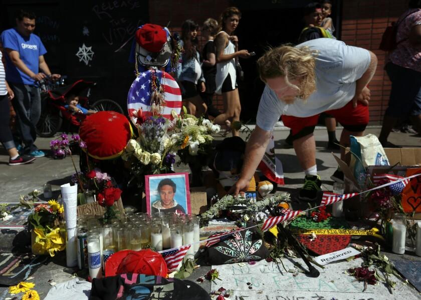 Brendon Glenn memorial