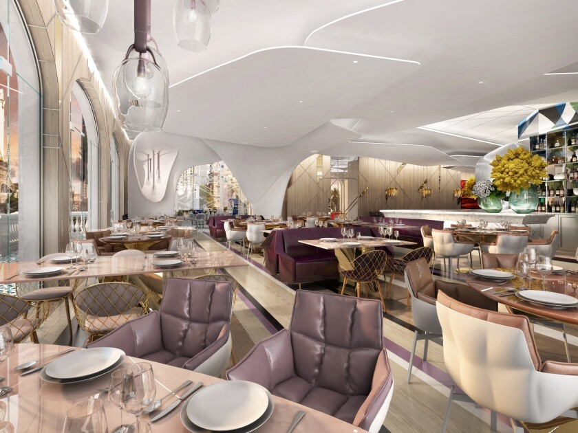 Lago by Julian Serrano opens in April with Italian fare with a Milanese feel. It overlooks the Fountains at Bellagio.