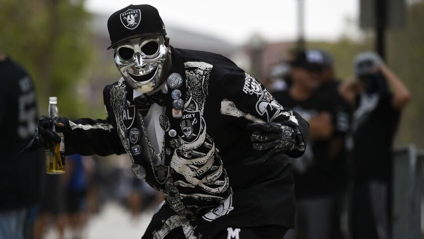 Column: A lot has changed since the Raiders left L A , but
