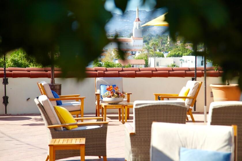 Canary hotel in Santa Barbara.