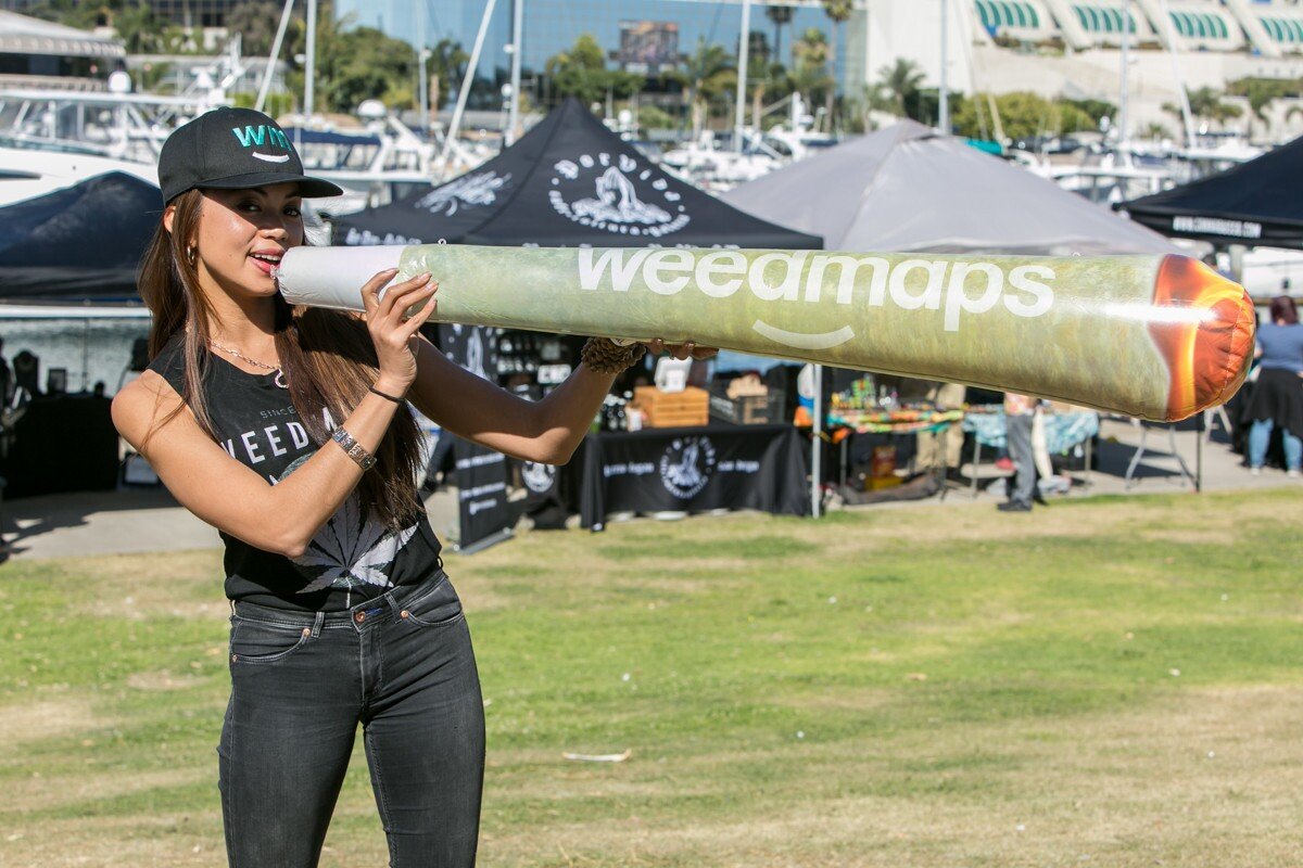Weed-enthusiasts celebrated the first legal 4.20 holiday at the BAYKED by the Bay Festival at Embarcadero Marina Park North on Friday, April 20, 2018.