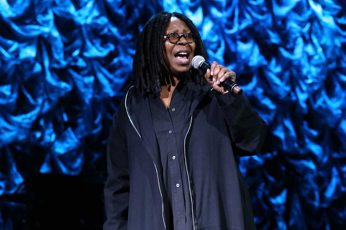 """""""Life...doing her thing, another great has passed Sid Caesar. Funny man We honored him at the very first Comic Relief. RIP turn turn turn"""" — @WhoopiGoldberg"""