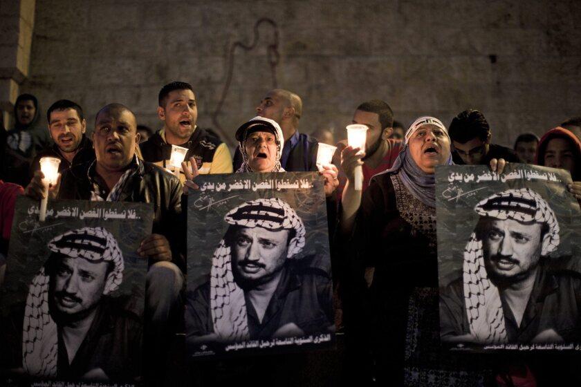 Yasser Arafat death anniversary