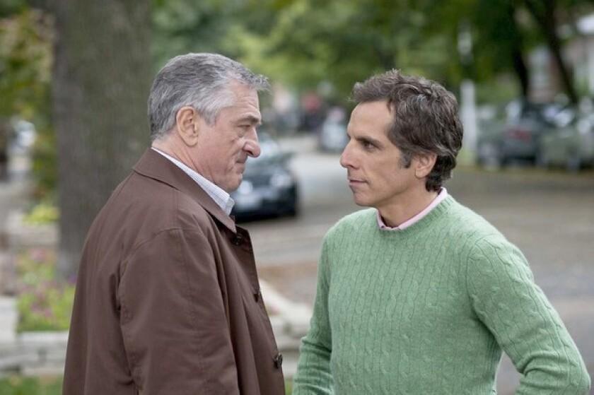 Robert De Niro, left, and Ben Stiller.