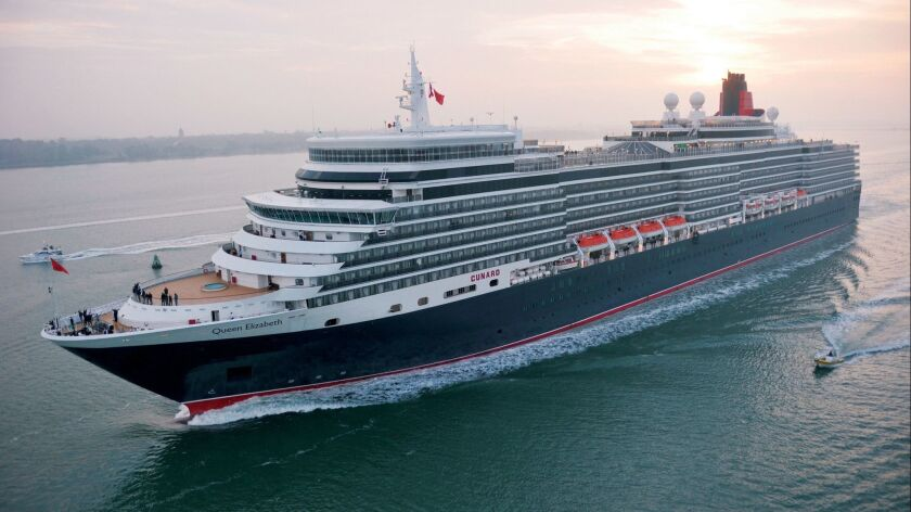 Cunard's Queen Elizabeth is coming to Long Beach for July 4 celebration.