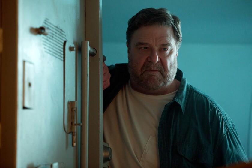 """John Goodman in a scene from """"10 Cloverfield Lane."""""""