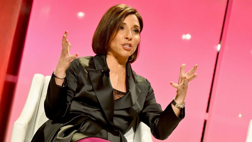 NBCUniversal chairman of advertising sales and client partnerships Linda Yaccarino in 2016 in New Yo