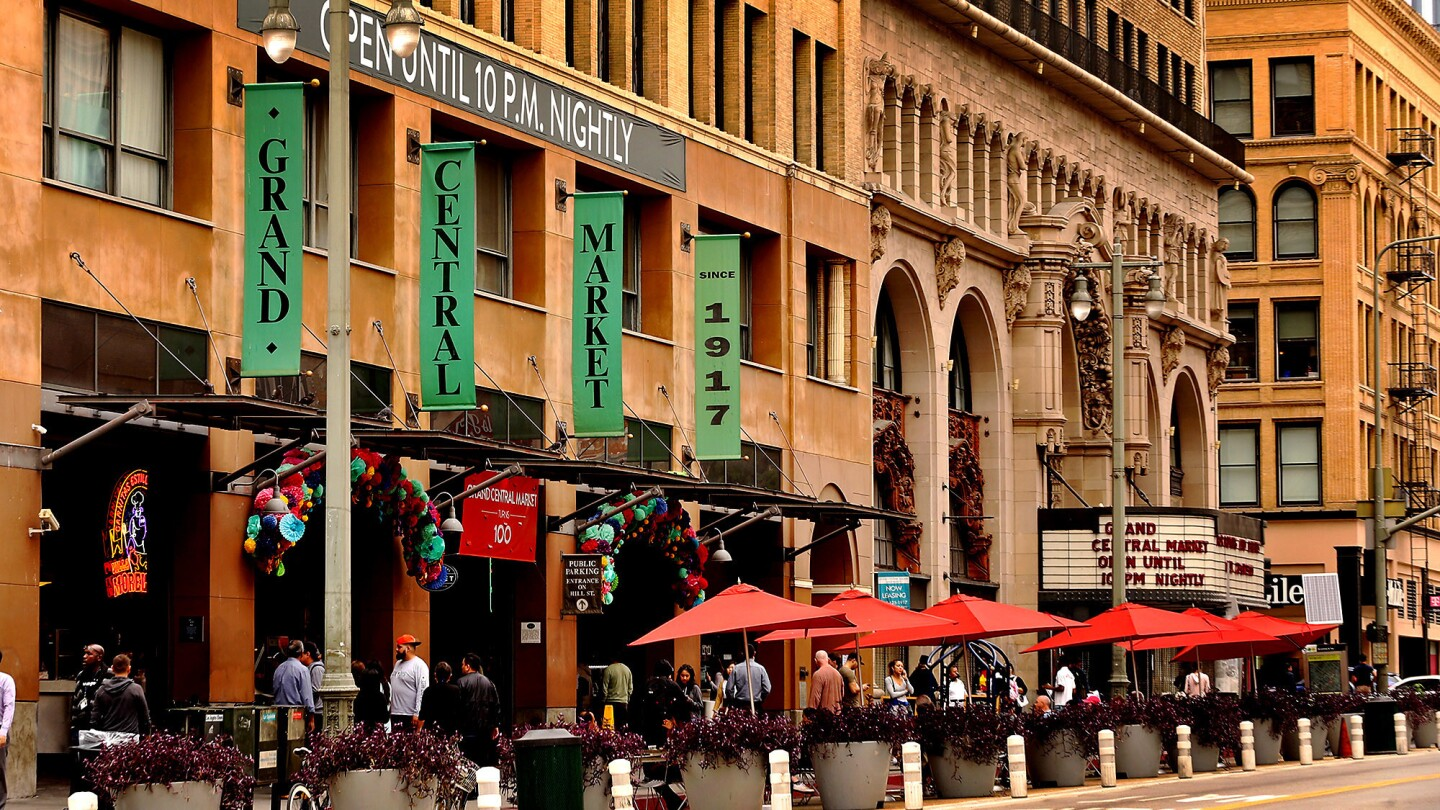 Downtown's historic Grand Central Market