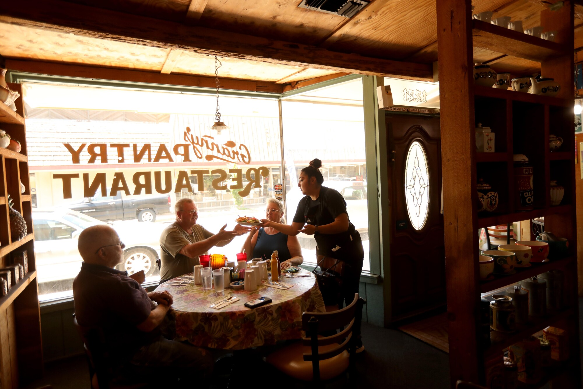 Granny's Pantry Restaurant reopens to the public in Atwater.