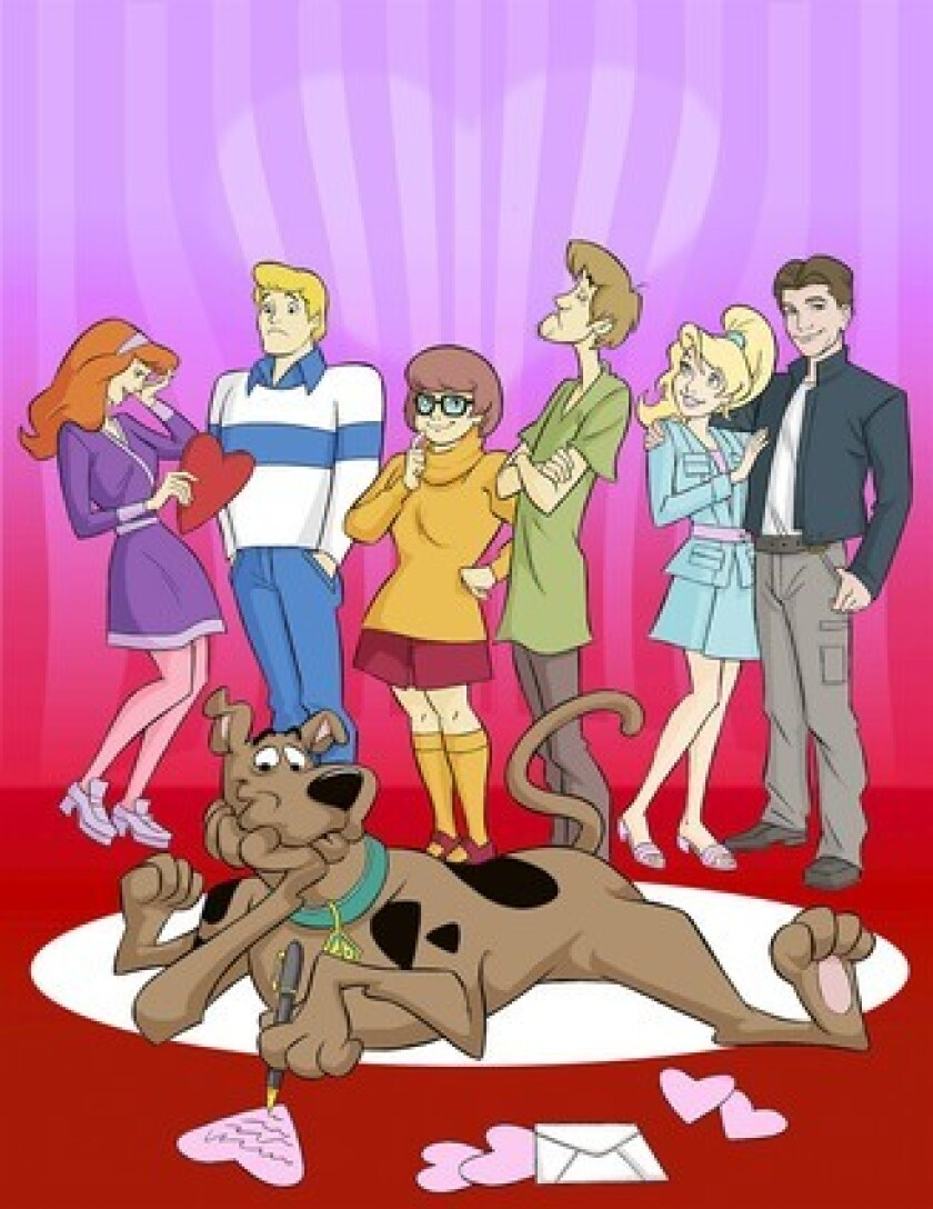 """The characters of the """"Scooby Doo"""" TV show."""