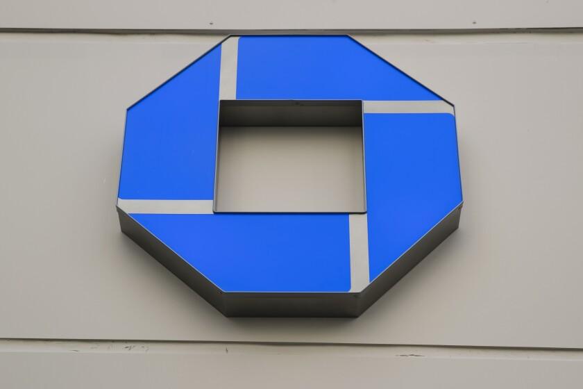 This Thursday, Nov. 29, 2018, photo shows a Wells Fargo bank location in Philadelphia. JPMorgan Chase & Co. reports financial results Tuesday, Oct. 14, 2019. (AP Photo/Matt Rourke)