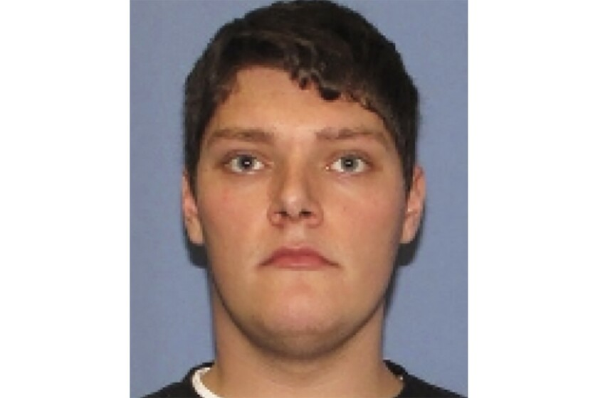 FILE - This undated file photo provided by the Dayton Police Department shows Connor Betts. The federal investigation into the motivations of Betts, a gunman who killed nine people last year in Dayton's crowded entertainment area is nearing an end, the special agent in charge of the FBI's office for southern Ohio said Thursday, Feb. 13, 2020. Police who were nearby in the Oregon district fatally shot Betts about 30 seconds after he opened fire early in the morning of Aug. 4, 2019, with an assault-style gun. (Dayton Police Department via AP, File)