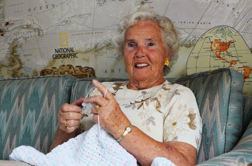 Chula Vista resident Hilde Ruble, 83