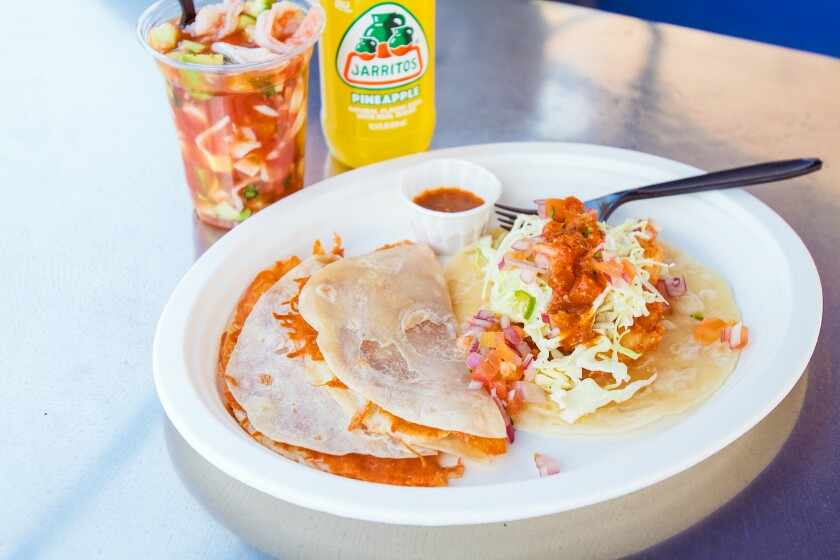 With mariscos, fried seafood and flour tortillas, the family behind Guisados offers new dishes at Playita.