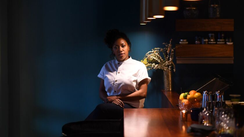 Nyesha Arrington at her now-closed restaurant Native.