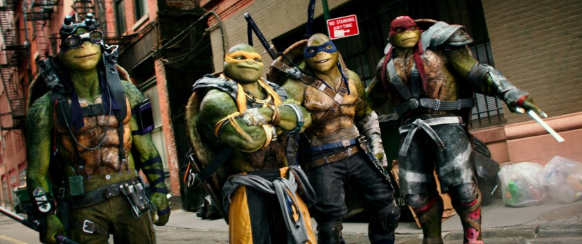 Teenage Mutant Ninja Turtles Out Of The Shadows Battles To Win Soft Weekend Box Office Los Angeles Times