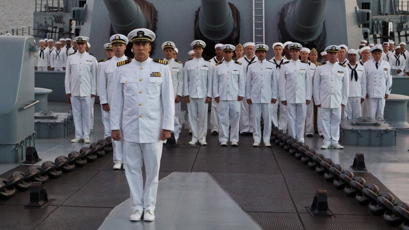 "Nicolas Cage in ""USS Indianapolis: Men of Courage."""