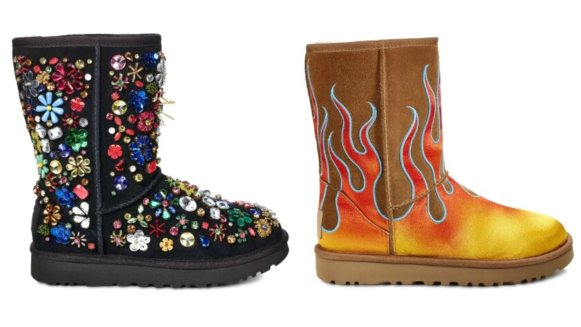 c06305ae248 Living the Ugg life: Jeremy Scott's Fall 2017 collaboration with the ...