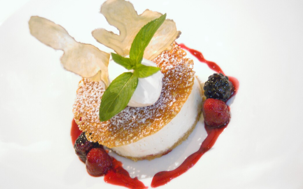 Water Grill cheesecake