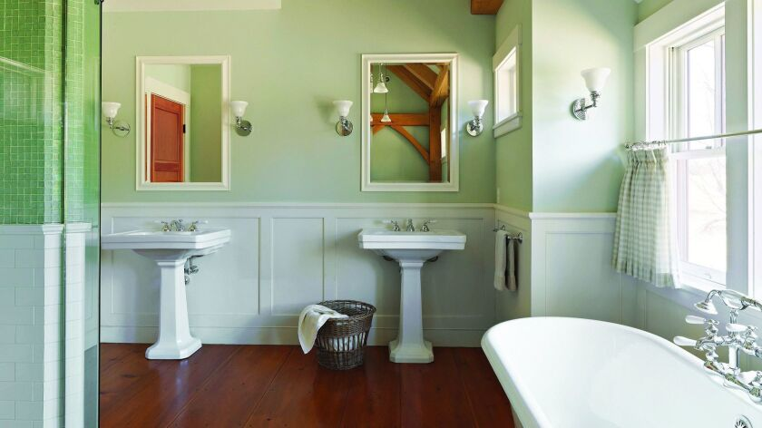 Sometimes your bathroom is really nice, but it really needs more storage.